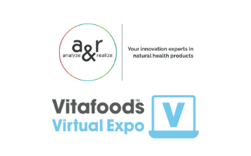 a&r at Vitafoods Virtual Expo
