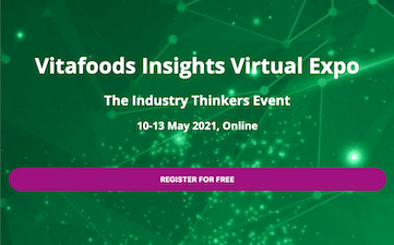 Join us at Vitafoods Insights VirtualExpo